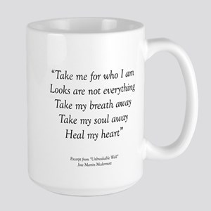 Unbreakable Excerpt Large Mug